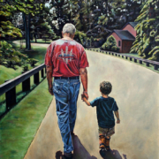 """The Journey Continues • 30"""" x 24"""", oil on linen"""