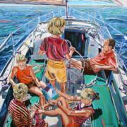 "Timeless, 36"" x 48"", oil on canvas"