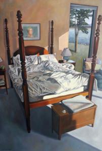Laura Tryon Jennings Interior Bedroom Paintings
