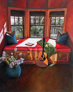 "Acoustic Chill • 20' x 16"", oil on linen"