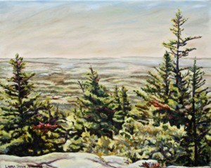 "Beech Cliff Vista 18"" x 24"", oil on linen"