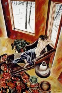 "Winter Lorn • 36"" x 24"", oil on canvas"