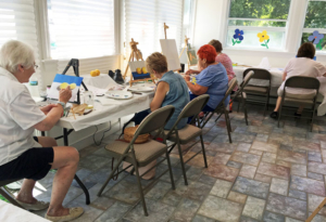 Hope Floats Painting Class
