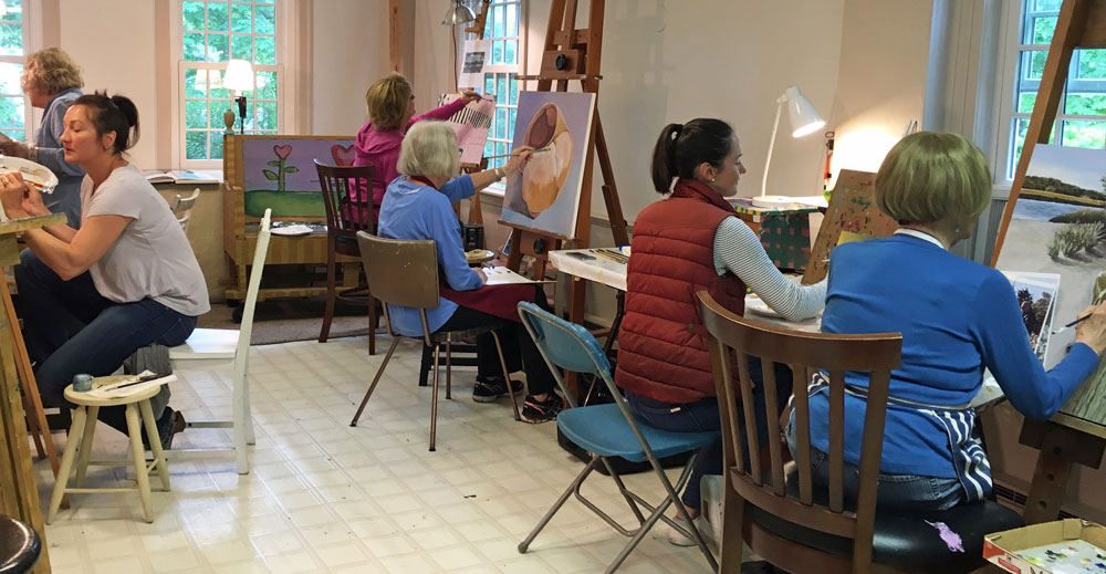 Group Painting Class
